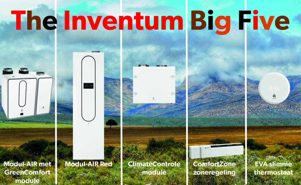 The Inventum Big Five: online beurs